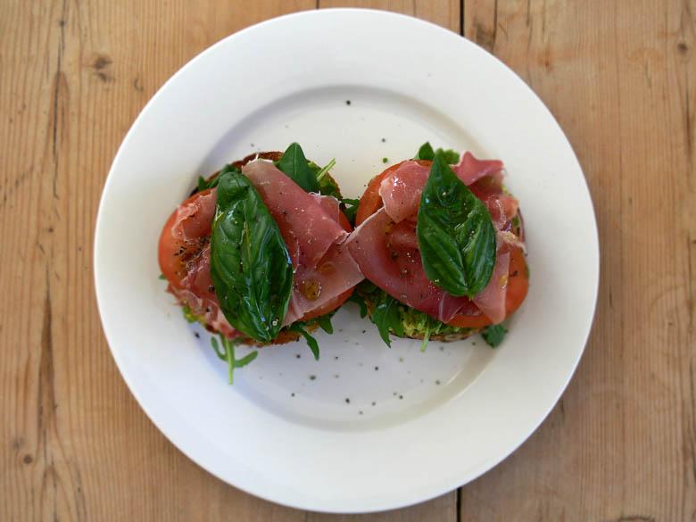 prosciutto sandwich-blur